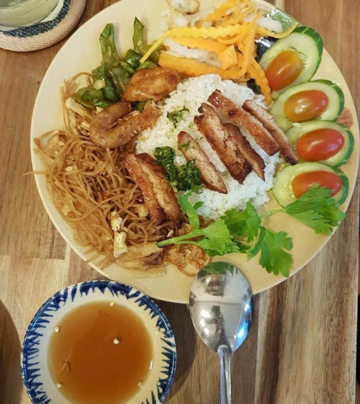 quán ăn chay Sài Gòn