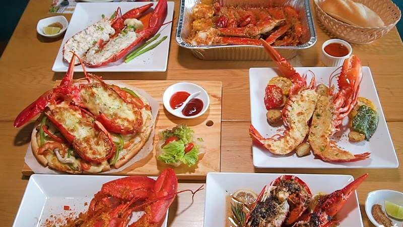 nhà hàng hải sản ở Sài Gòn