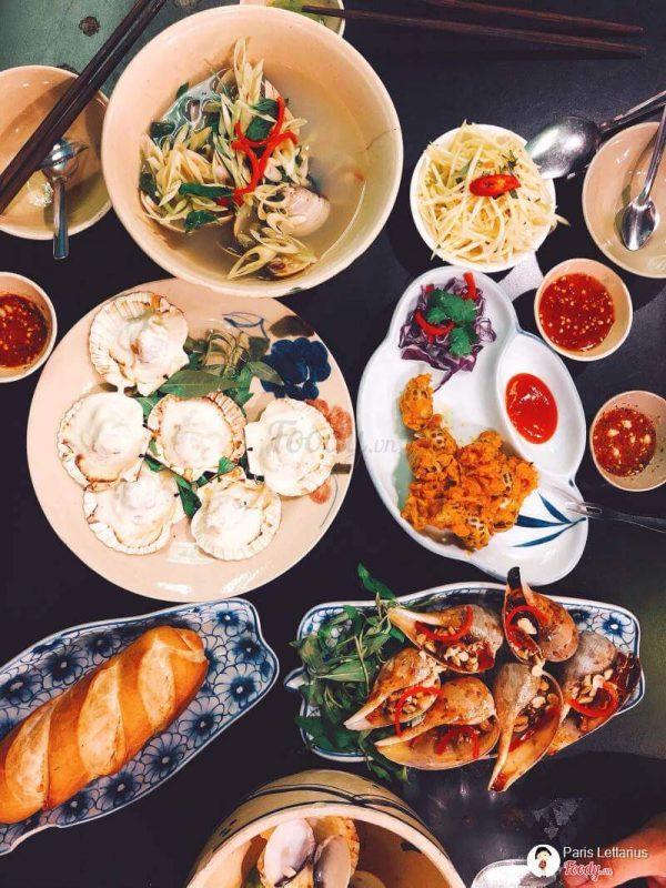 quán ăn ngon ở Sài Gòn Quận 4