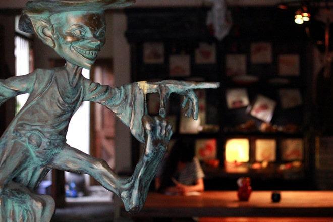 quán cà phê độc lạ sài gòn