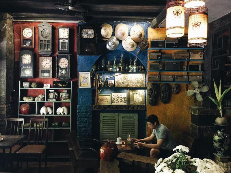 quán cafe học bài ở Sài Gòn