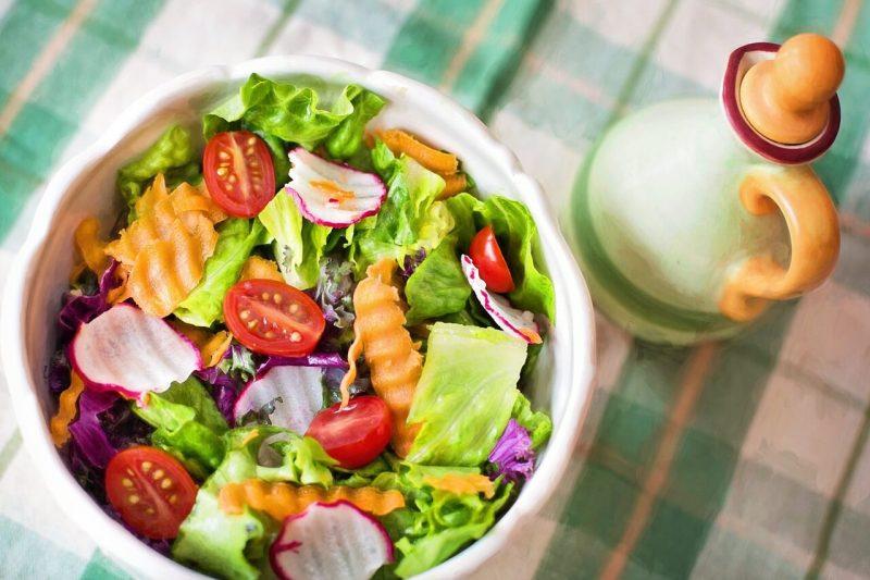 quán salad sài gòn