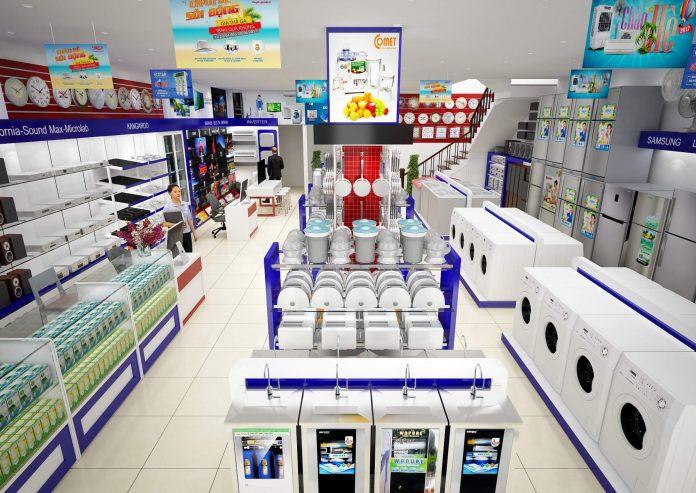 siêu thị điện máy ở sài gòn