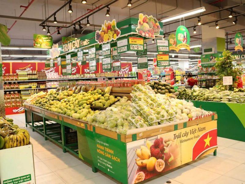 Cửa hàng hoa quả Sài Gòn
