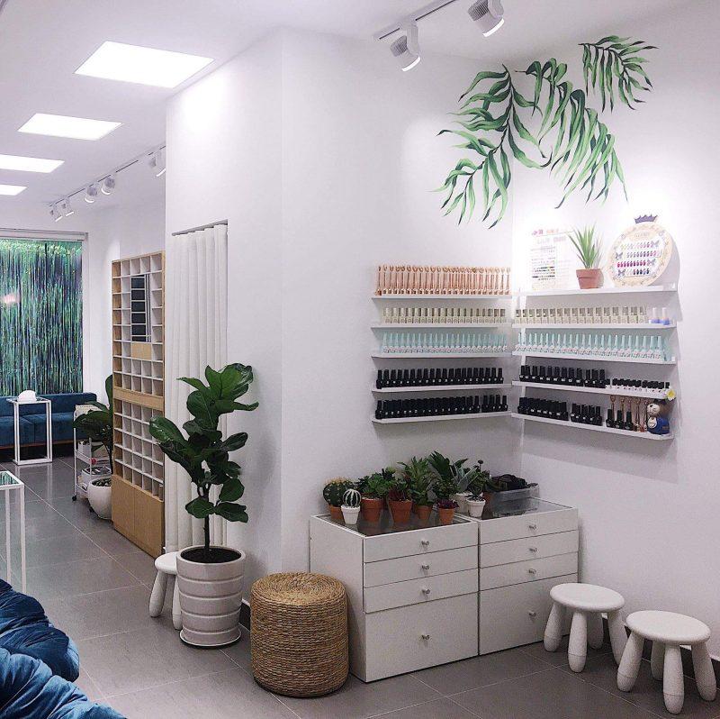 Các tiệm nail ở Sài Gòn